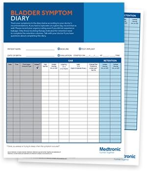 Bladder Symptom Diary